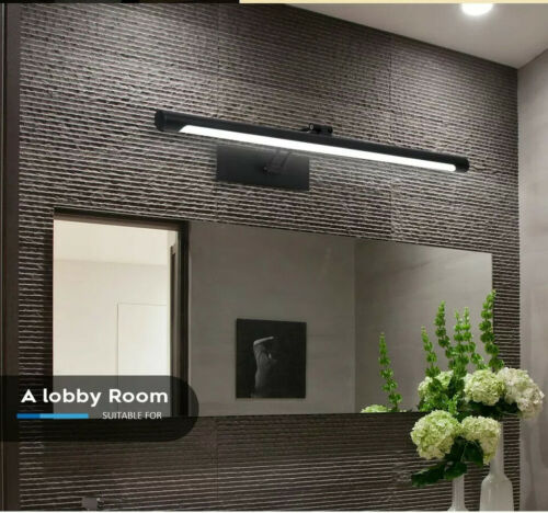 Modern Vanity Makeup Mirror LED Bathroom Light With Wall Mount