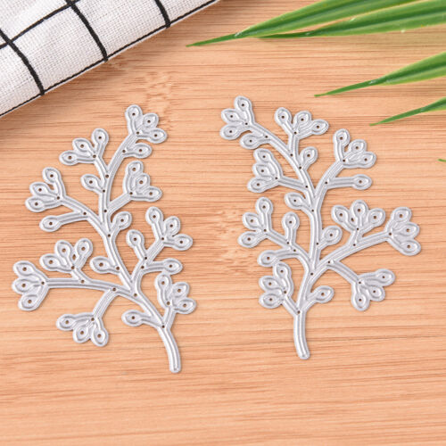 Flowers Metal DIY Cutting Die Stencil Scrapbook Album Paper Card Embossing HC