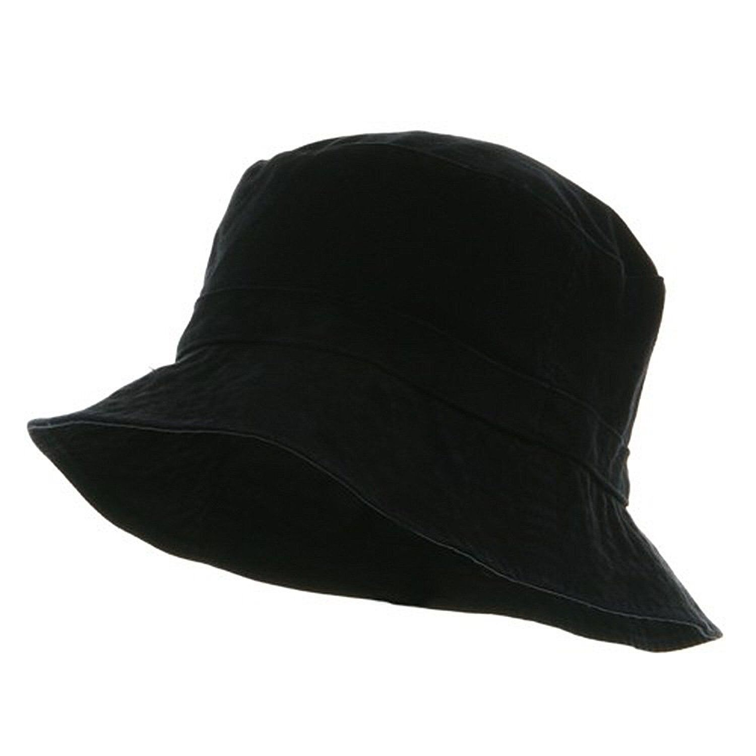 1edc085e638 Details about Black Fishermans Fishing Hunting Army Military Bucket Jungle  Safari Cap Hat