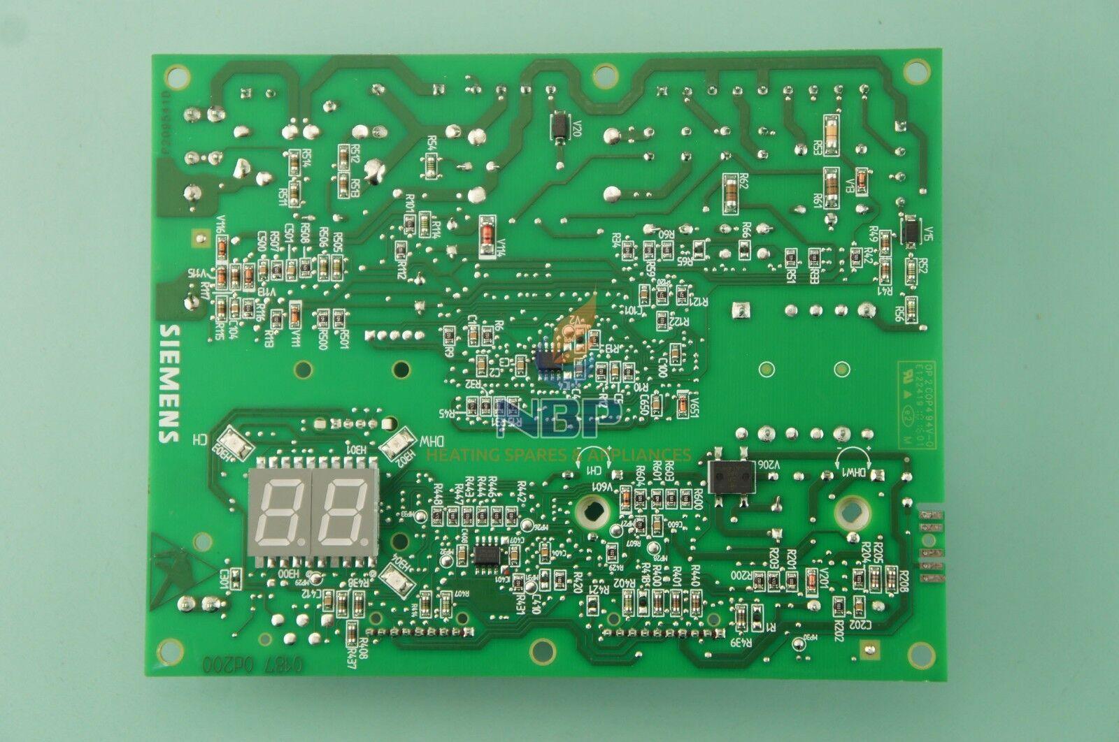 Baxi Combi Combi Baxi 24 el PCB 5120217 Ver Lista Abajo 548719