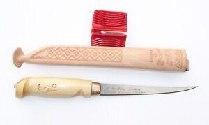 23 cm Klinge 15 19 Schärfer 10 Rapala Soft-Grip Filetiermesser Scheide