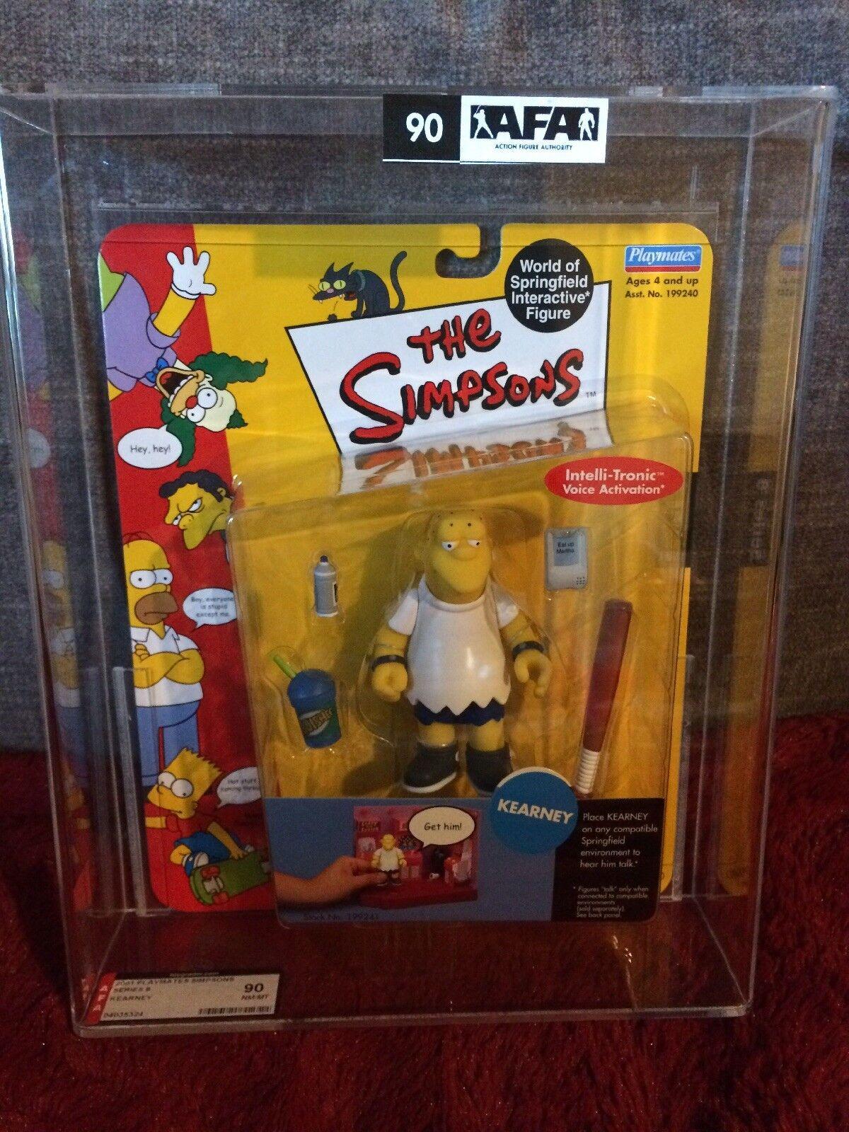 Simpsons Playmates Series 8 WOS Figure afa 90 Kearney