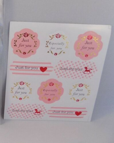 Especially//Just For You  Sticker Labels Craft Packaging Seals