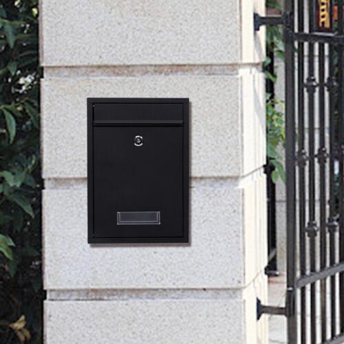 Briefkasten Wandbriefkasten Postkasten Briefkastenanlage Zeitungs Fach Rolle Box