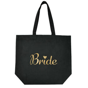 Black-Bride-to-be-Cotton-Tote-Bag-for-Wedding-Bridal-Shower-Gifts-Gold-Script