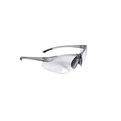 BiFocal C2-115 Clear Shooting Glasses Safety Glasses Reading Glasses +1.50