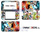 Anime Pokemon Vinyl Decals Skin Stickers Cover for Nintendo New 3DS XL 2015
