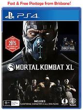Mortal Kombat XL PS4 Playstation 4 Brand NEW *DISPATCHED FROM BRISBANE*