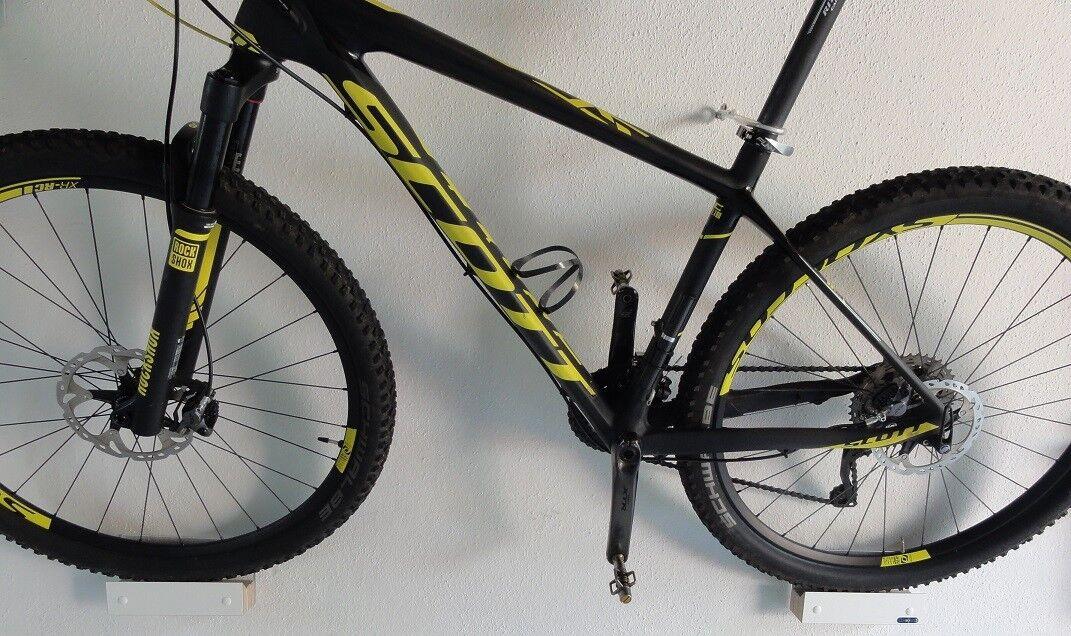 Clipboart ® Wandhalterung Wandbefestigung  MTB E-Bike Fahrrad Bike Mountainbike