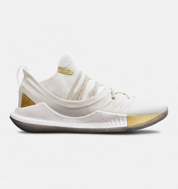 official photos 88ff5 3e21e Under Armour Mens Curry 5 Basketball Shoes Black White Sports Breathable