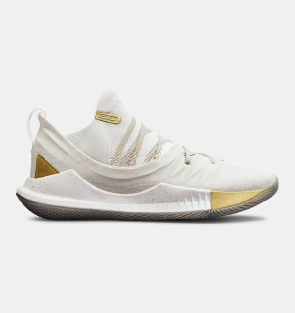 official photos 2c2c3 65e2d Under Armour Mens Curry 5 Basketball Shoes Black White Sports Breathable