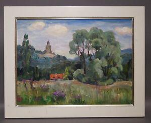 Ruth Dolmetsch (1918-2000 Stuttgart) - Ruine Falkenstein - Ehemals 2500,- (D224)