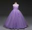 US-STOCK-Flower-Girl-Dress-Princess-Formal-Graduation-Bridesmaid-Gown-O99 thumbnail 4