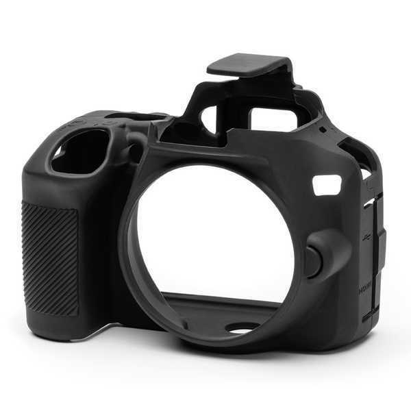 EasyCover Silicone Skin Armour Cover for Nikon D3500 in Black (UK Stock) BNIP
