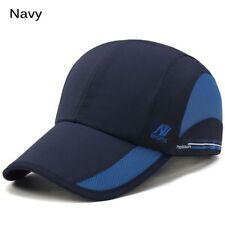 2fb907ef8f3 Breathable Outdoor Sport Baseball Mesh Sun Hat Running Visor Quick-drying  Cap UK