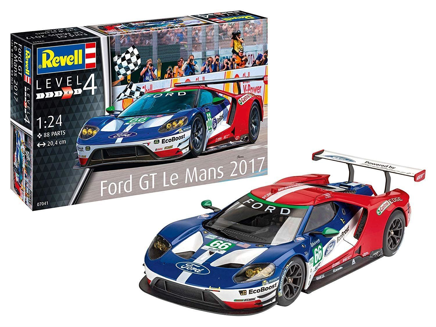 Revell 1 24 Ford GT (Le Mans) Model Set - 67041