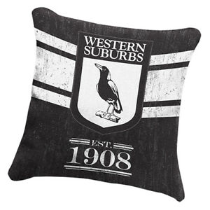 NRL-Western-Suburbs-Magpies-NRL-HERITAGE-Cushion-fabric-Pillow-Christmas-Gift
