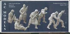 AC Models German 88 Crew 7 figures NO scenic base WW2 1/35th Unpainted kit