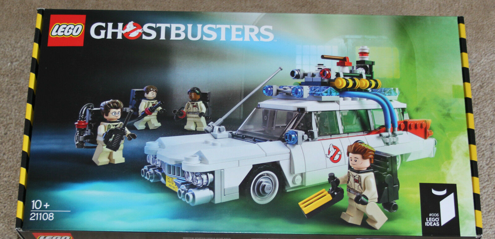 LEGO IDEAS 006 006 006 - GHOSTBUSTERS - set 21108 BRAND NEW SEALED - hard to find e7a5c7