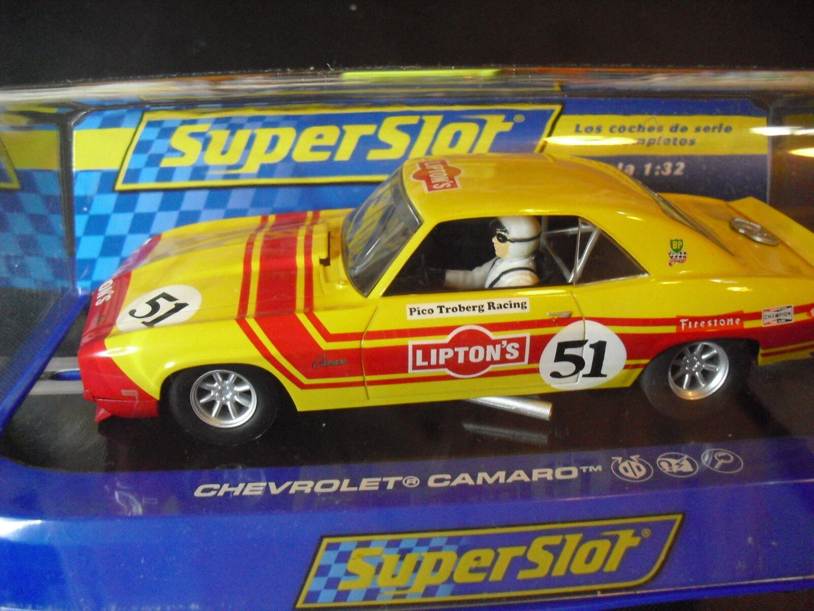 Superslot H3314 CHEVROLET CAMARO PICO TROBERG 1 32 NEW