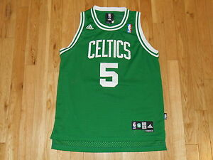 3cd98b0524d4 adidas KEVIN GARNETT Green BOSTON CELTICS Youth NBA Team Swingman ...