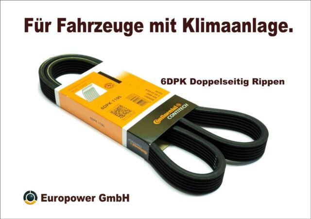 Metzger 6PK1185 DAYCO Keilrippenriemen