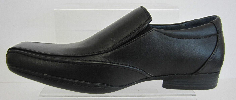MAVERICK a1044 Caballeros Informal Negro Zapatos SIN x CIERRES GB Tallas 7 x SIN 12 ( a1f6ef