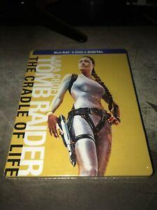 Tomb-Raider-The-Cradle-of-Life-Blu-Ray-DVD-Digital-HD-Steelbook-NEW-Sealed