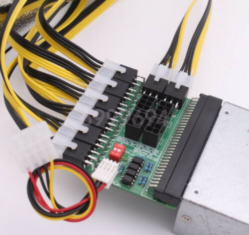 DPS-1200FB//QB A 12 ports Power Supply Breakout Board Adapter For Ethereum Mining