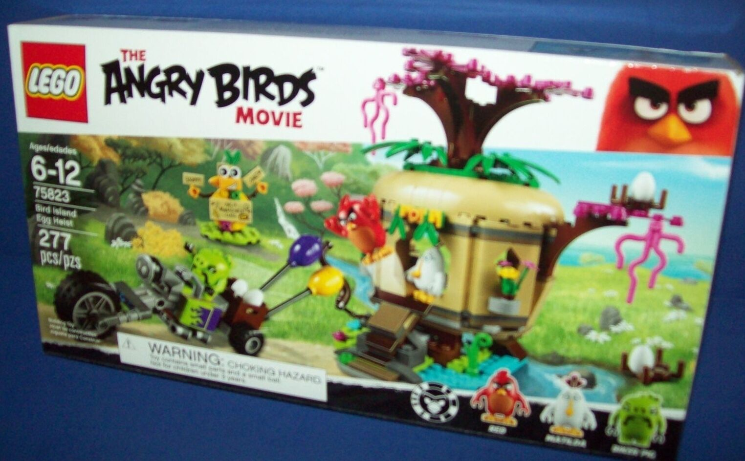 LEGO The Angry Birds Bird Movie 75823 BIRD ISLAND EGG EGG EGG HEIST NIB 85d1ca