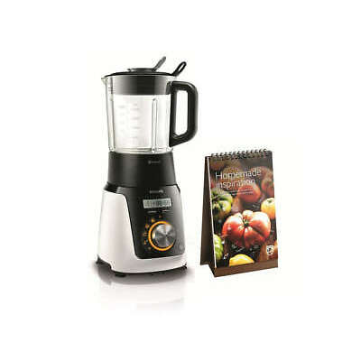 PHILIPS Standmixer HR2098/30 Suppen Smoothies Kochfunktion 1100W