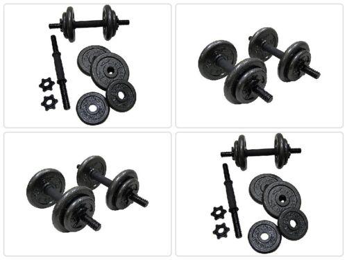 Poids Set réglable Gold/'s Gym Barbell Home Workout Cast Iron Haltères 80 lb environ 36.29 kg