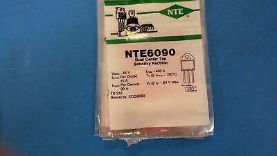 ECG6090 1 PC NTE6090 Dual Center Tap Schottky Rectifier