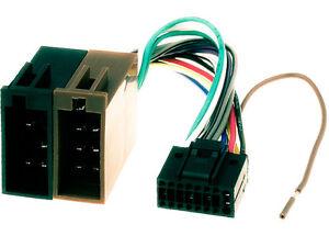 AUTO-RADIO-ADAPTER-KABEL-fuer-KENWOOD-KDC-X5000BT-Einbau-Anschluss-auf-ISO