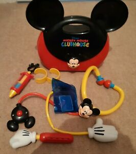 Rare-Official-Disney-Mickey-Mouse-Clubhouse-Doctor-Playset-with-accessories