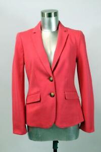 TALBOTS Pink ABERDEEN BLAZER Jacket Knit RECENT Modern Career XS 2 PETITE 2P