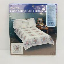 15x15 White Bucilla 48869E Playful Pals Quilt Blocks