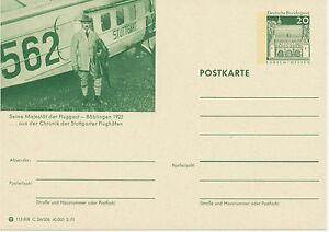 BRD 1970 20 PFG. Picture Post-GA built his majesty the passenger – Böblingen 1925