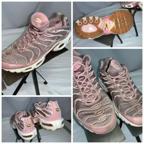 Nike Air Max Tn Sz 8 Women Pink Running Shoes Mint