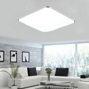 Details zu 24W LED Deckenleuchte Kaltweiß Deckenlampe Wohnzimmer Ultraslim  Panel Lampe Top