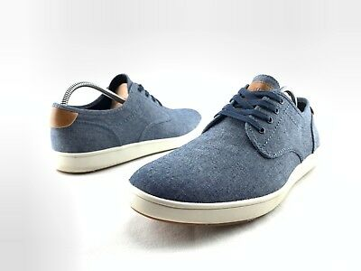 Blue Lace Up Casual Sneakers