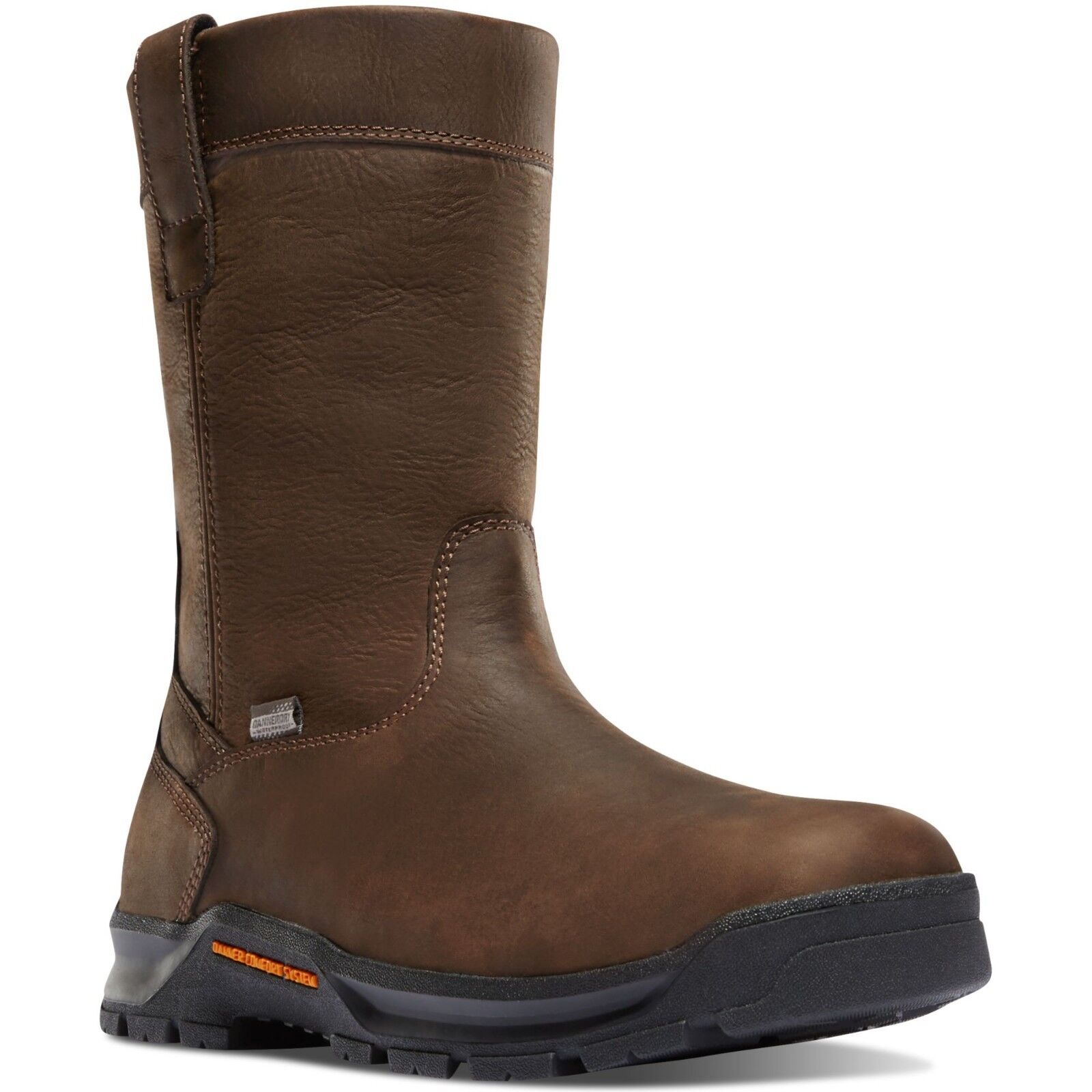 Danner Men's 12455 Crafter Wellington 11  Brown Comp Toe Work EH Safety Boots