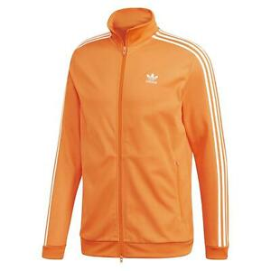 adidas Originals Superstar Logo Track Jacket Orange