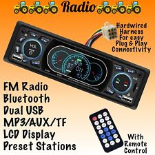 Direct Plug Amp Play Kubota Tractor Radio Fm Bluetooth Rtv 1100 Rtx 1100c B2650