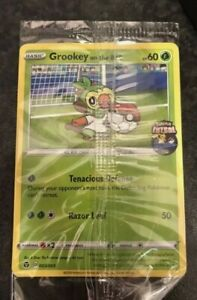 Grookey On The Ball 003 005 Pokemon Futsal Promo Card Game Uk Exclusive Free P P Ebay #grookey | 1.7m people have watched this. usd