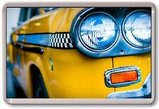 FRIDGE MAGNET - TAXI LIGHT - Large Jumbo - New York USA Cab Checker