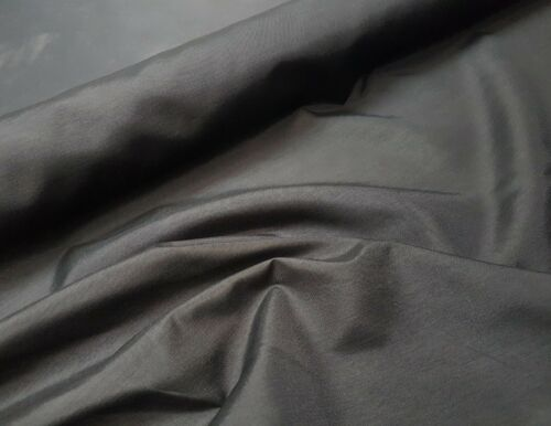 150cm wide Polyester Viscose Blend Fabric Material Cloth Black 4oz*