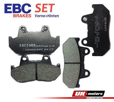 EBC Bremsbeläge SET Vorne + Hinten Honda VF 1000 FE/FF/FG/F2F/F2G 84-86