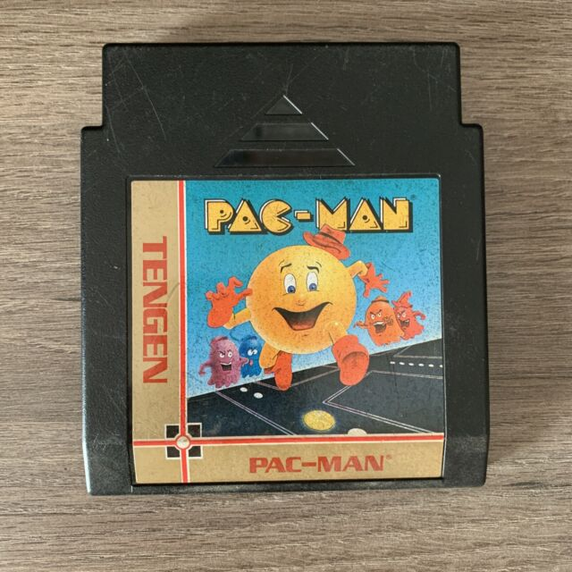 Pac-Man (Nintendo Entertainment System, 1990) Authentic Tested And Working