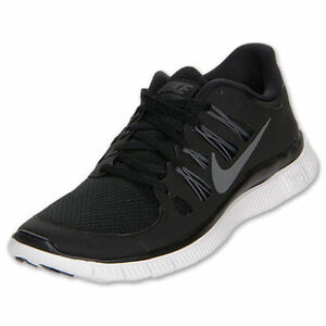 New Nike Men's Free 5.0 + Running Shoes Black 579959-002 ...